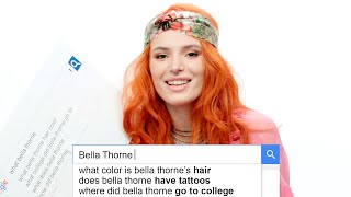 Download Bella Thorne Answers the Web's Most Searched Questions | WIRED Video