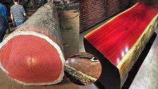 Download LẠ: Người thợ xẻ thân gỗ GÙ HƯƠNG trăm tuổi thật bắt mắt, xem thành phẩm cuối cùng còn kinh ngạc hơn Video