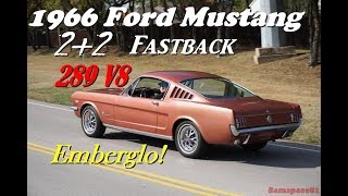 Download 1966 Ford Mustang Fastback 4K UHD video tour & test drive Video