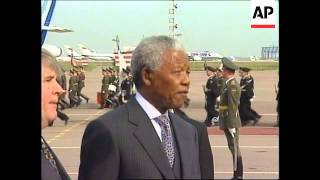 Download RUSSIA: SOUTH AFRICAN PRESIDENT MANDELA VISIT Video