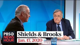 Download Shields and Brooks on Trump impeachment evidence, Democratic debate Video