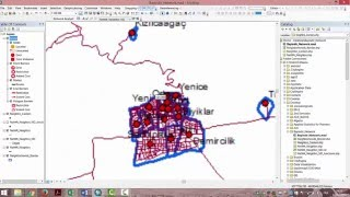 Download How to Calculate shortest Paths for Multiple Origins/Destinations with ArcGIS 10.2 Video