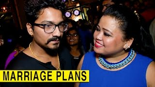 Download Bharti Singh CONFIRMS Her Wedding With Harsh Limbachiyaa By December 2017 | Wedding Plan | EXCLUSIVE Video