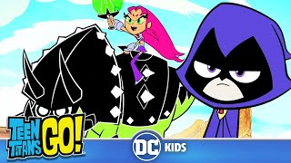Download Teen Titans Go! | Who Is The Toughest Titan? | DC Kids Video