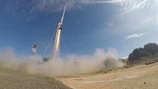 Download Stratos II+ Rocket launch to 21.5 km Video