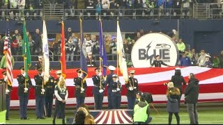 Download Seahawks Moment of silence for slain Tacoma police officer Jake Gutierrez. Video