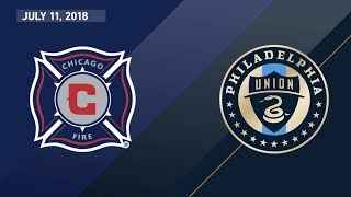 Download HIGHLIGHTS: Chicago Fire vs. Philadelphia Union | July 11, 2018 Video