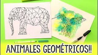Download ¿Cómo hacer ANIMALES GEOMÉTRICOS? ✄ Barbs Arenas Art! Video