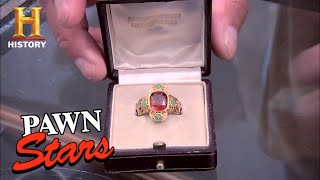 Download Pawn Stars: 19th Century Roman Catholic Cardinal Ring (Season 7) | History Video