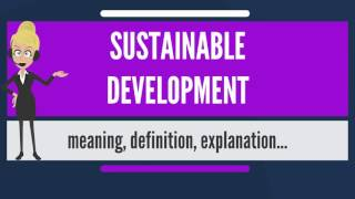 Download What is SUSTAINABLE DEVELOPMENT? What does SUSTAINABLE DEVELOPMENT mean? Video