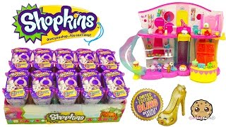Download 10 Shopkins Fashion Spree Surprise Blind Bags Box Unboxing Cookieswirlc Video Video