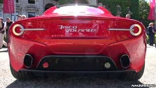 Download New Alfa Romeo Disco Volante AMAZING V8 Sound! Video