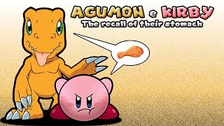 Download MUGEN VORE - Agumon e Kirby: The recall of their stomach Video
