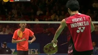 Download Lin Dan v T.Hidayat  MS- QF  Yonex All England Open Badminton Champ. 2012 Video