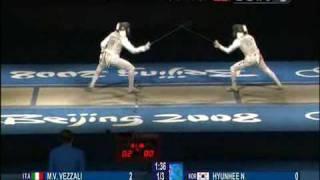 Download Women's foil final - M.V Vezzali v H.Nam Video
