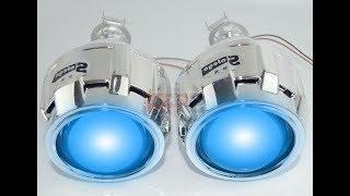 Download Bi Xenon Headlight Projector Lens - Test Video