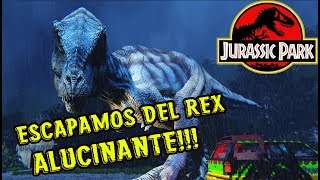 Download LA MEJOR EXPERIENCIA JURASSIC PARK DE MI VIDA!! T-REX BREAKOUT!!! Video