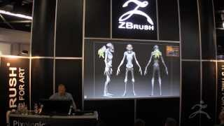 Download Epic Games and ZBrush at SIGGRAPH 2013 - Part One Video