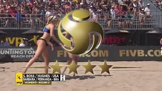 Download 2018 FIVB Huntington Beach Open: Ross/Hughes vs. Barbara/Alves Video