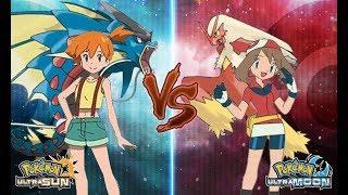 Download Pokemon Ultra Sun and Ultra Moon Misty Vs May (Kanto Vs Hoenn Battle) Video