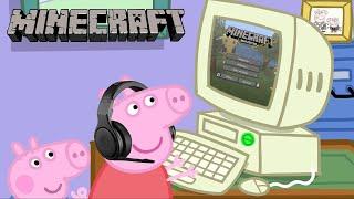 Download Peppa Pig Plays Minecraft Video