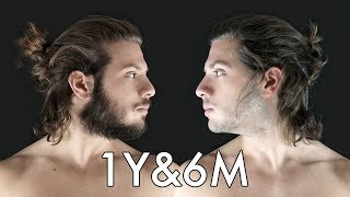 Download Hair Growth Time Lapse - 1 Year & 6 Months ● Bearded or Shaved? Video
