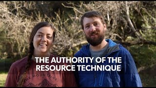 Download Authority of the Resource Technique: How to Communicate Leave No Trace Video