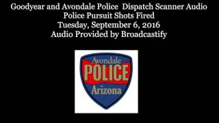 Download Raw: Avondale Police Dispatch Scanner Audio Police Pursuit Shots Fired! Video
