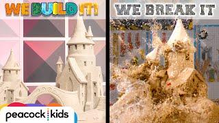 Download Building Epic Sand Castle + SMASHING IT! | WE BUILD IT WE BREAK IT Video