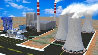 Download How does a Thermal power plant work ? Video