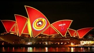 Download Vivid Sydney 2013 - Sydney Opera House (full length with sound) Video