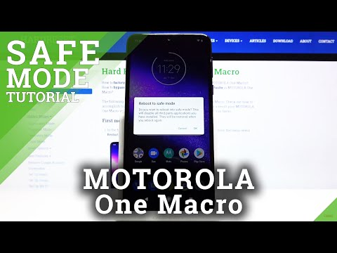How to Activate Safe Mode in MOTOROLA One Macro – Open Safe Mode