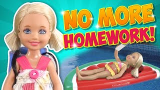 Download Barbie - No More Homework! | Ep.157 Video
