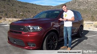 Download Review: 2018 Dodge Durango SRT - The 3-Row Muscle SUV Video