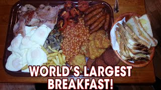 Download World's LARGEST Breakfast Challenge Defeated TWICE!! Video