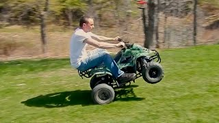 Download 110cc Chinese ATV Review Video
