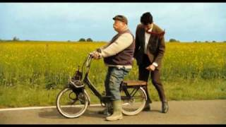 Download Mr Bean's holiday-Mr Bean and man with motorbike Video