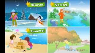 Download Learn all about the four seasons at turtlediary Video