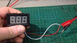Download Banggood Panel Voltmeter Settings and Setup as an Ammeter Video