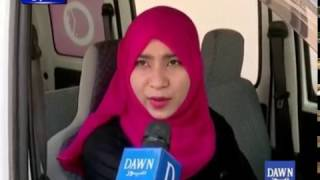 Download Meet Female Driver of 'Pink Taxi' Service in Karachi Video