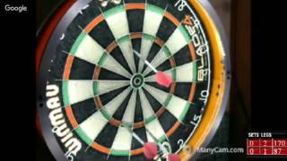 Download Rattlesnake vs Ray Chuck -WDA Darts Video