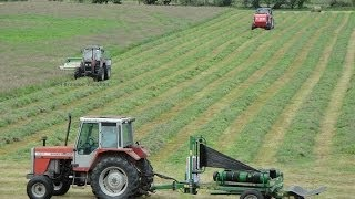 Download Silage 2014-Moynihan Mowing, Baling and Wraping Video