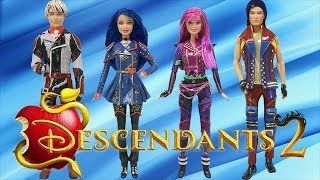 Download Play Doh Descendants 2 Mal Evie Carlos Jay Costumes Video