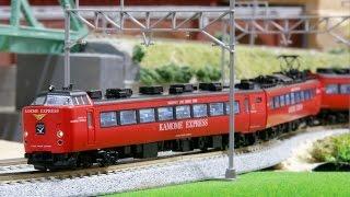 Download 【鉄道模型】485系RedExp&885系 特急「かもめ」走行 Video