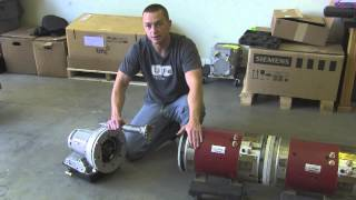 Download Dual Motor Electric Vehicle Drivetrain With Powerglide 2 Speed Transmission Walkthrough by EV West Video