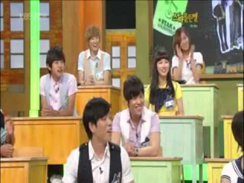u-kiss Kevin dancing Miss A bad girl good girl with Suzy & Fei