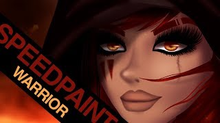 Download MSP - Speedpaint - Warrior [Detailed] Video
