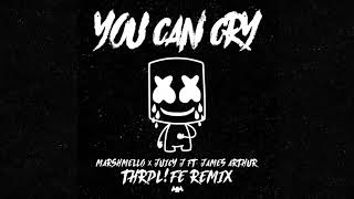 Download Marshmello x Juicy J - You Can Cry (Ft. James Arthur) (THRDL!FE Remix) Video