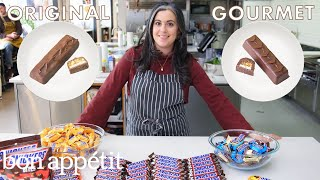 Download Pastry Chef Attempts to Make Gourmet Snickers | Gourmet Makes | Bon Appétit Video
