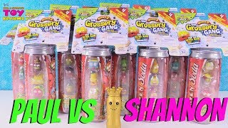 Download Paul vs Shannon Challenge Grossery Gang 4 Pack Toy Review | PSToyReviews Video